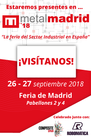 Estaremos presentes en MetalMadrid 2018