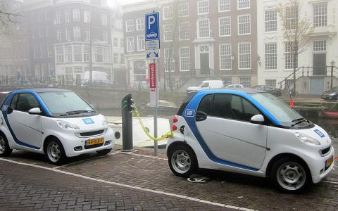 Car2Go Amsterdam Smart ED