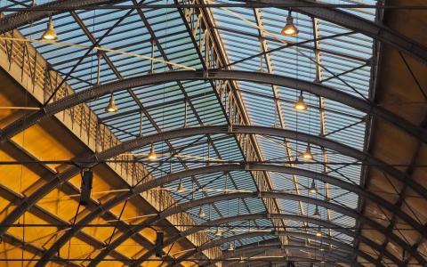 Estructura de acero para construcción