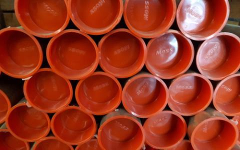 Tubo de cobre para refrigeración industrial
