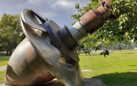 Turbina de bronce