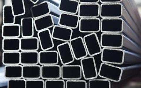 Imagen tubo de hierro rectangular