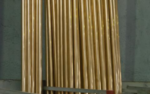 Imagen tubo de latón